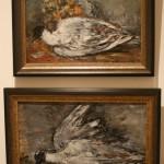 """Михаил Соколов """"Чайка и цветы"""" 1947 и """"Мёртвая чайка"""" 1947"""