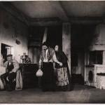 Сцена из спектакля «Тевье-молочник». Одесский ГОСЕТ, 1939