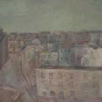"""Александр Лабас """"Вид на Мясницкую"""" 1930-е Частное собрание"""