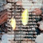 """Ли Мингвей """"100 дней с лилией. 5 частей"""" - """"Дни 21-40"""""""