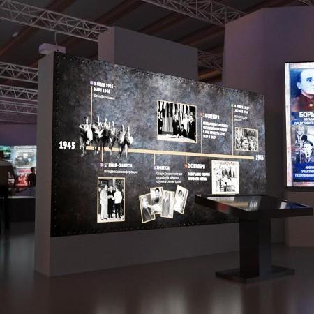 Мультимедийная выставка Россия Моя история 1945–2016 Центральный выставочный зал Манеж