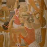 """Александр Самохвалов """"Советская физкультура (фрагмент панно к Всемирной выставке 1937 года в Париже)"""" 1937"""
