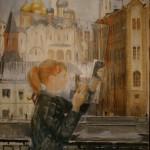 """Юрий Пименов """"Кусок стекла"""" 1966"""
