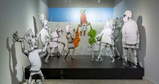 Скетч-батл в рамках выставки уличного искусства #проект64.
