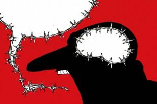 Карикатуристы за права человека. Групповая выставка художников из 28 стран.
