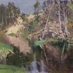 "Константин Коровин ""Рыбалка. Охотино"" 1911"