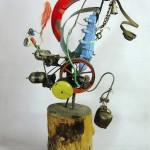 Новогодняя выставка и квест на темы искусства для детей.