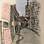 """Билли Фюме """"Le 16 Rue du Champliman à Ornans"""""""