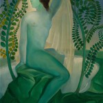 "Ладо Гудиашвили ""Весна (Зеленая женщина)"" 1920"