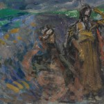"""Константин Коровин """"Сказка о царе Салтане. Эскиз декорации"""" 1907"""