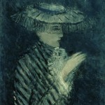 """Михаил Соколов """"Женский портрет"""" 1920-1930-е"""