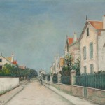 "Морис Утрилло ""Улица Республики в Саннуа"" 1912"
