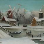 """Анри Руссо """"Зима"""" 1907"""
