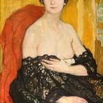 """Елена Киселёва """"Женский портрет. Blange"""" 1912"""