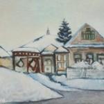 """Александр Бабин """"Тагил в снегу"""" 2015"""