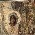 """Врубель М.А. """"Голова ангела"""" 1889 Фрагмент композиции """"Воскресение"""""""