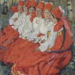 "Елена Киселёва ""Невесты"" 1910"