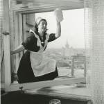 """Эммануил Евзерихин """"Новая гостиница """"Украина"""" Москва, май 1957"""