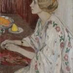 """Елена Киселёва """"Портрет Лизы"""" 1909"""