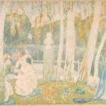 """Борисов-Мусатов В.Э. """"Весенняя сказка"""" 1905"""