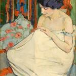 """Елена Киселёва """"Этюд. Натурщица"""" 1911"""