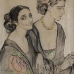 """Елена Киселёва """"Прекрасные дамы"""" 1927"""