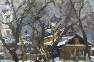 Рождественская встреча с художником Виктором Орловым.