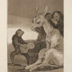 """Франсиско Гойя """"Капричос. Серия из 80 офортов. «Брависсимо!» 1799"""
