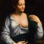 """Академия Леонардо да Винчи во Франции """"Портрет женщины в образе Флоры"""""""