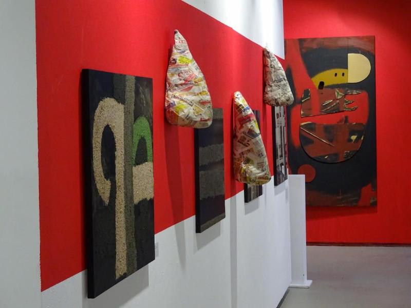 Живопись, фотография, скульптура, объекты и произведения зрителей.