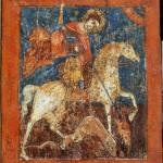 Чудо Георгия о змие. Конец XIV – начало XV века. Ростовская провинция
