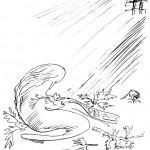Анатолий Зверев - Иллюстрация к сказке «Дикие лебеди»
