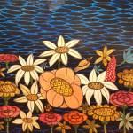 """Люся Воронова """"Цветы у синего моря"""" 2010"""