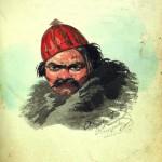 """Карл Гампельн """"Портрет Дениса Давыдова"""" Из Альбома Аннет Козловой. Начало 1820-х"""