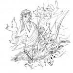 Анатолий Зверев - Иллюстрация к сказке «Русалочка»
