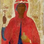 Великомученица Параскева. Первая половина XV века. Новгород