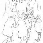Анатолий Зверев - Иллюстрация к сказке «Новое платье короля»