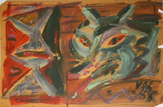 Валентин Воробьев «Волк» 1988