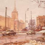 "Евгений Ромашко ""На Дорогомиловской"" 2015"