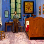 """Ясумаса Моримура """"История искусства в автопортретах. Комната Ван Гога"""" 2016"""