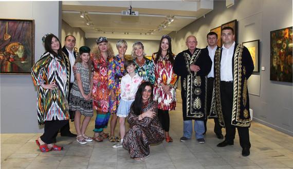 Открытие проекта «Очарованные Востоком» (2016).
