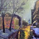 """И.А. Марц """"Тессинский переулок. Зима"""" 2015"""