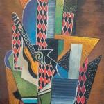 Серж Фера «Арлекин с гитарой» 1920-1930-е