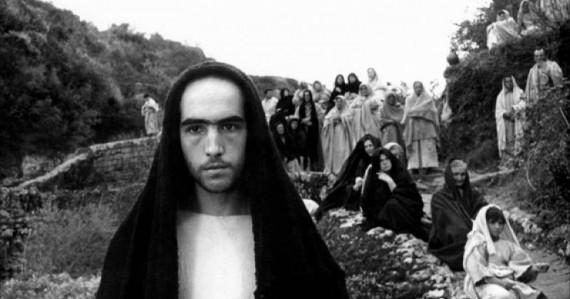 «Евангелие от Матфея» 1964. Режиссер и автор сценария Пьер Паоло Пазолини.