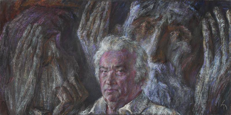 Выставка художников Александра Верстова, Иоанны Иванив и Анны Прасловой (Верстовой).