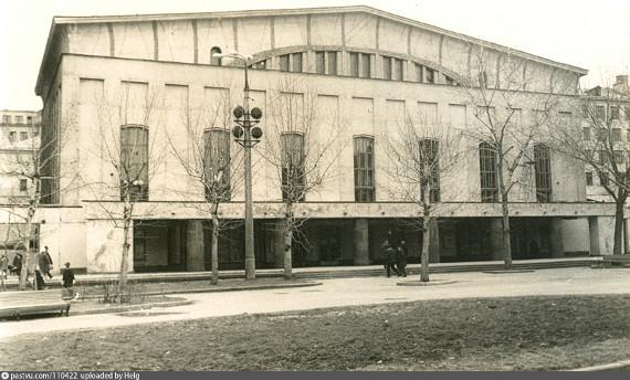 Театр им. Моссовета, фотография 1967-1973