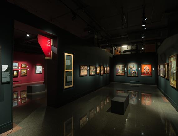 Обновленные залы основной экспозиции ИРРИ.