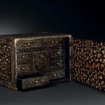 Кабинет переносной (контадор) в стиле намбан. Япония, конец XVI - начало XVII вв