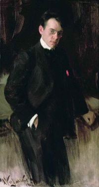 Иван Куликов «Портрет Владимира Щуко» 1902
