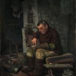 """Геннадий Проваторов """"Валенки. Носов Алексей Михайлович. Цикл """"Одинокие"""" 1998"""